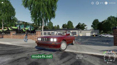 BMW E30 Touring для Farming Simulator 2019