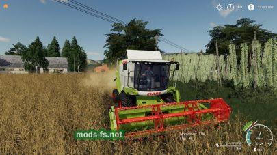 CLAAS TUCANO 320 для Farming Simulator 2019