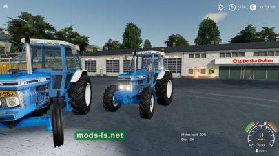 Ford 5610 2wd/4wd для Farming Simulator 2019