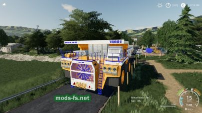 Belaz 75601 Mining Truck для Farming Simulator 2019