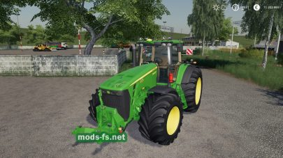 John Deere 8030 Series Official для Farming Simulator 2019