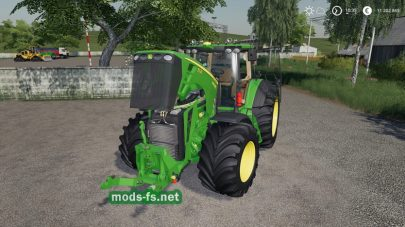 John Deere 8030 Series FS 2019