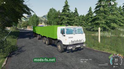 КамАЗ 53212 Szap 8357 для Farming Simulator 2019