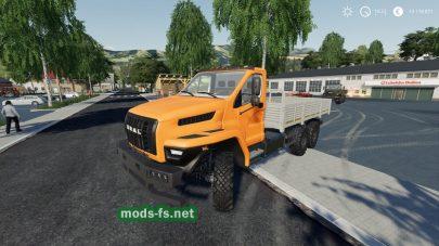 Ural Next 6×6 Flatbed