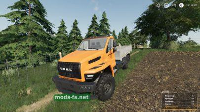 Ural Next mod