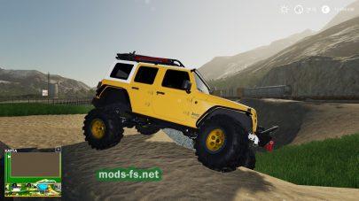 Jeep Wrangler 2020 mod