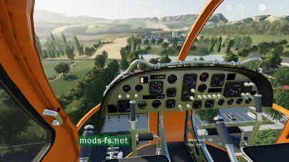 KA 27 Helicopter для Farming Simulator 2019