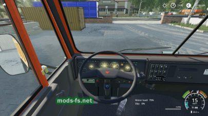 КамАЗ-55111 для Farming Simulator 2019