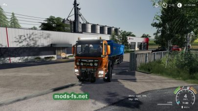 MAN TGS 18500 Agrar для Farming Simulator 2019