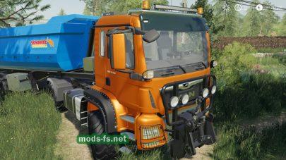 Мод на MAN TGS 18500 Agrar