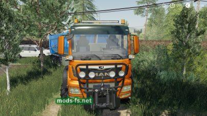 MAN TGS 18500 Agrar