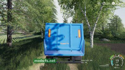 Schmitz CargoBull Half Tube