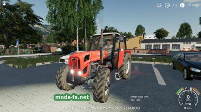 Мод трактора URSUS 912/4