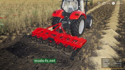 Мод на Lizard 15-13-11 Cultivatorдля Farming Simulator 2019