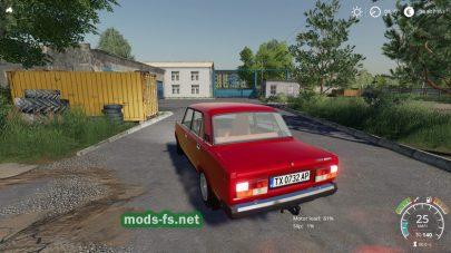 Мод на авто ВАЗ Лада 2107