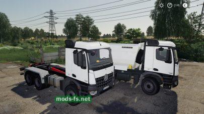 Мерседес-Бенц Arocs Hinterkipper для Farming Simulator 2019