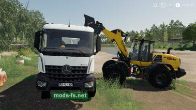 Arocs Hinterkipper для Farming Simulator 2019