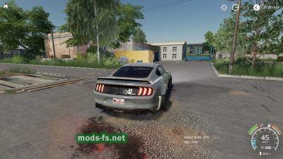 Мод Ford Mustang RTR