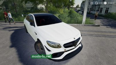 Mercedes Benz E63S AMG 2018 для Farming Simulator 2019