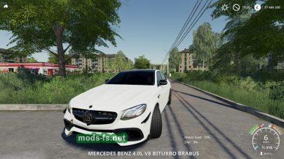 Mercedes Benz E63S mod