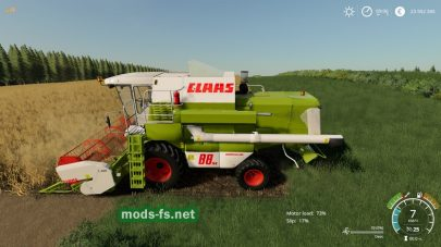 Claas Dominator 88