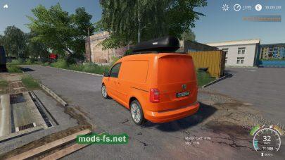 Volkswagen Caddy 2015 для Farming Simulator 2019