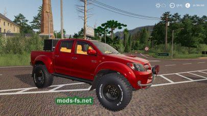 Toyota Hilux Arctic для Farming Simulator 2019 FS 2019